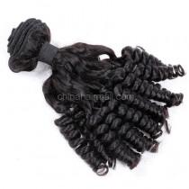 Brazilian virgin unprocessed human hair wefts Funmi Curly 1 pc a lot  95g/pc [BVFC01]