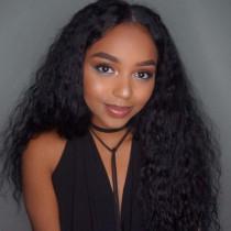 Full Lace Wigs Malaysian Virgin Hair 10mm Curl [FW35]