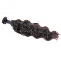 Brazilian virgin human hair wave natural wave 1 pc a lot unprocessed 95g/pc [BVNW01]