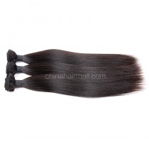 Malaysian virgin unprocessed natural color human hair wefts yaki straight 3 pieces a lot Hair Bundles 95g/pc [MVYK03]