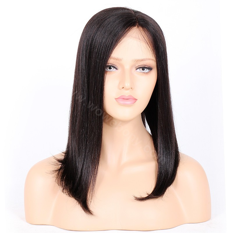 Mdx Cash Back >> WowEbony Lace Front Wigs Indian Remy Hair Straight ...