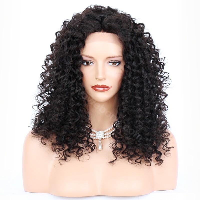 Wowebony Lace Front Wigs Malaysian Virgin Human Hair Deep