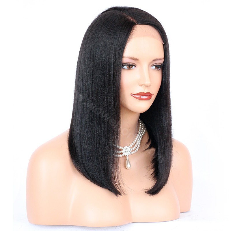 how to make au part wig with side part