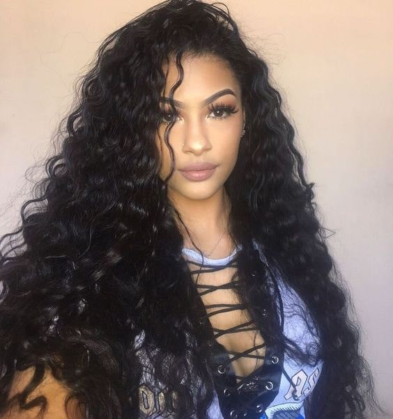Lace Front Wigs Indian Remy Hair Deep Body Wave [LFW097] | WowEbony.com