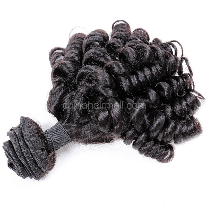 Peruvian virgin unprocessed natural color human hair wefts Spiral Curly Hair Waeve 1 pc a lot 95g/pc [PVSC01]