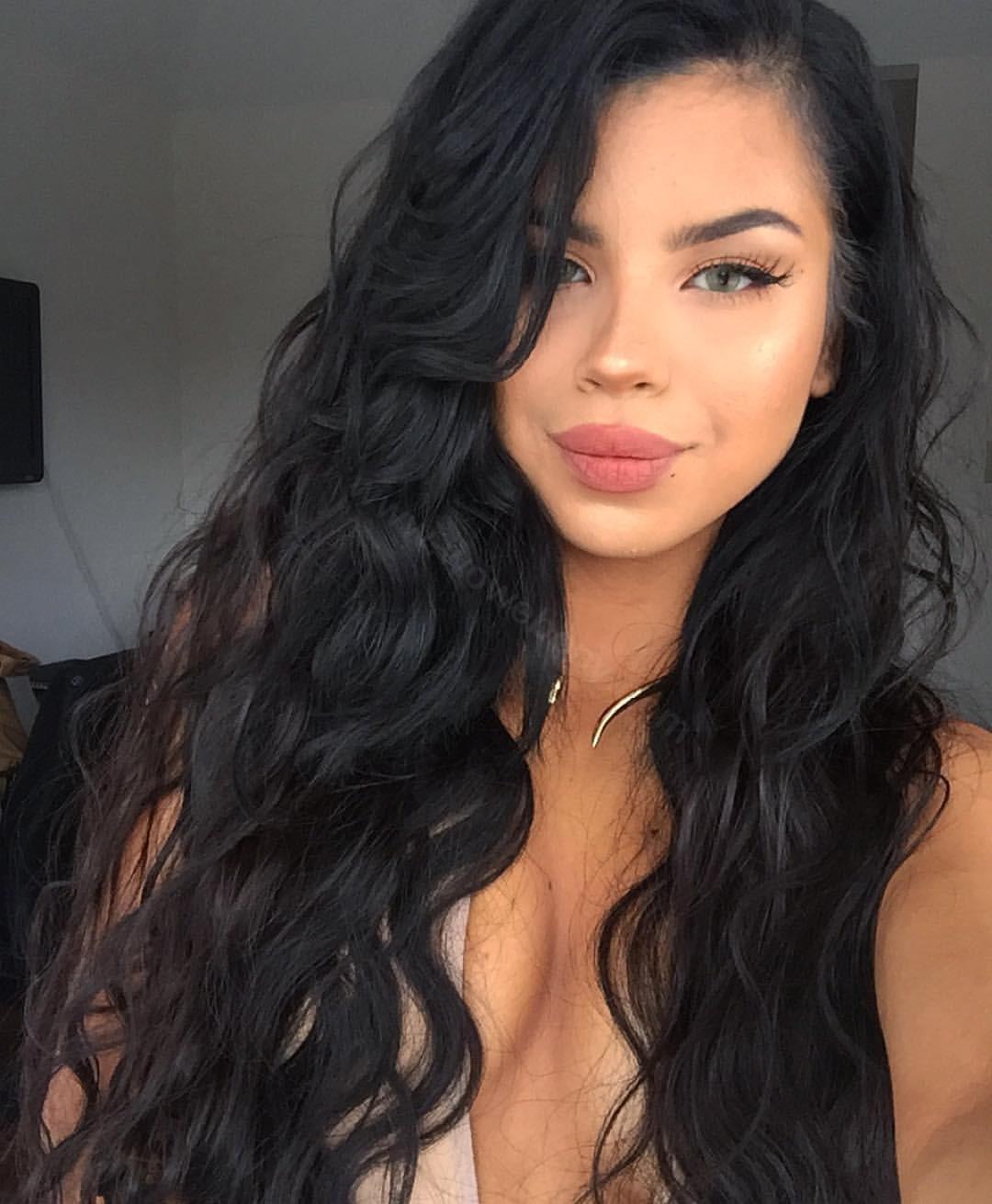 Glueless Full Lace Wigs Peruvian Virgin Hair Loose Wave