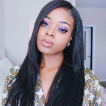 360 Lace wigs in Yaki Straight from WowEbony