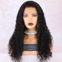 WowEbony Pre-Plucked 360 Lace Wigs Wave Wave, 180% density, Indian Remy Hair [360WW01]