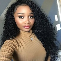 Glueless Full Lace Wigs Brazilian Virgin Hair Brazilian Curl