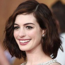 Celebrity Inspired Glueless Lace Front Wigs Indian Remy Hair Short Bob Cut Wigs