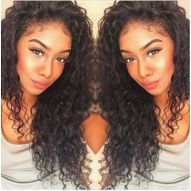 Glueless Full Lace Wigs Malaysian Virgin Hair Loose Curly [FLW45]