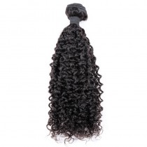 Peruvian virgin human hair wefts Brazilian Curly 1 piece a lot unprocessed natural color 95g/pc [PVBRC01]