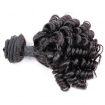 Brazilian virgin unprocessed human hair wefts Spiral Curly Hair Waeve 1 pc a lot 95g/pc [BVSC01]