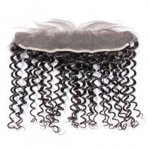 Peruvian Virgin Human Hair 13*4 Popular Lace Frontal Candy Curly  Natural Hair Line and Baby Hair [PVCCLF]