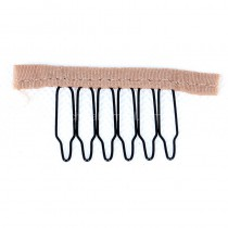 20pcs/lot Black Combs With Strap for Hair Extensions weft wig [COMB2]