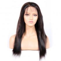 #1B/30 Highlight Color Glueless Full Lace Wigs Indian Virgin Hair Light Yaki [GHLFW03]