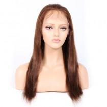WowEbony #4/30 Highlight Color Full Lace Wigs Indian Virgin Hair Light Yaki [HLFW05]