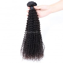 Brazilian virgin human hair wefts Kinky Curly 1 pc a lot unprocessed 95g/pc [BVKC01]