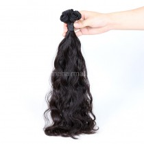 Top Grade 10A Double Drawn Brazilian Virgin Human Hair Weft Wave Loose Wave 1 pc a Lot Unprocessed 100g/pc [DDBVLW01]