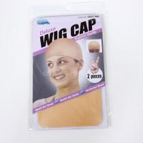 2pcs Unisex Elastic Wig Caps glueless Hair Net Wig Liner Hairnet Snood Nylon Stretch Mesh