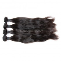 Malaysian virgin unprocessed natural color human hair wefts Natural Straight 4 pieces a lot  95g/pc  [MVNS04]