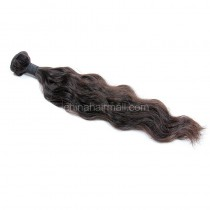 Peruvian virgin human hair wave natural color natural wave 1 pc a lot unprocessed 95g/pc [PVNW01]
