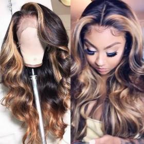 WowEbony Full Lace Wigs Peruvian Virgin Hair Body Wave [FW-BRITNNAY]