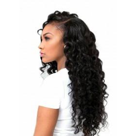 WowEbony Glueless Full Lace Wigs Peruvian Virgin Hair Loose Deep [FLW30]