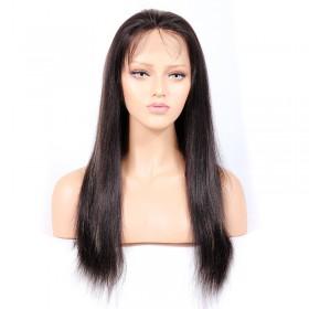 #1B/27 Highlight Color Full Lace Wigs Indian Virgin Hair Light Yaki [HLFW02]