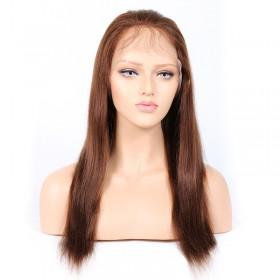 #4/30 Highlight Color Full Lace Wigs Indian Virgin Hair Light Yaki [HLFW05]
