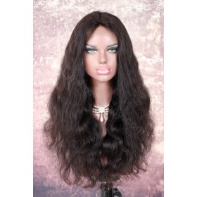 Indian Remy Hair Body Wave Glueless Lace Part Lace Wig  [LPLW01]