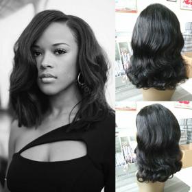 WowEbony Serayah Style Peruvian Wave Lace Front Wigs Brazilian Virgin Human Hair [LFW089]