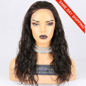 Same Day Shipping Clearance Sale 18 inches Full Lace Wigs Malaysian Virgin Hair #2 Color 130% Density Small cap size Malaysian Curl