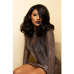 150% density Tara Inspired Indian Remy Hair Pre-Plucked 360 Lace Wigs Bob Wig [360BOB02]