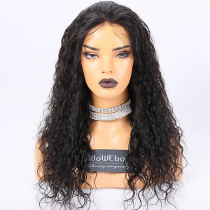 Clearance Sale Deep Part Lace Front Wigs Indian Remy Hair Picture Curl