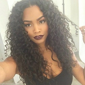 WoWEbony Invisible HD Transparent Single Knots Remy or Virgin Hair Loose Curl Lace Front Wigs [HDSS03]