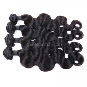 Brazilian virgin unprocessed human hair wefts Body Wave 4 pieces a lot  95g/pc  [BVBW04]