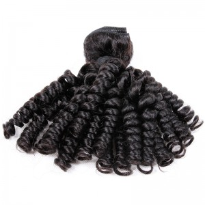 Brazilian virgin human hair wefts Bouncy Curly 1 pc a lot unprocessed 95g/pc [BVBC01]