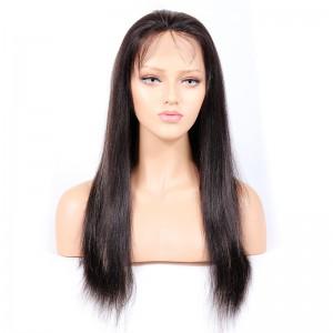 #1B/27 Highlight Color Glueless Full Lace Wigs Indian Virgin Hair Light Yaki [GHLFW02]
