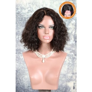 Indian Remy Hair Middle Part Glueless Silk Part Lace Wig [SPLW16]