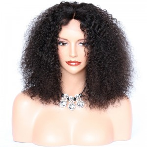 Glueless Full Lace Wigs Indian Remy Hair tight Curly