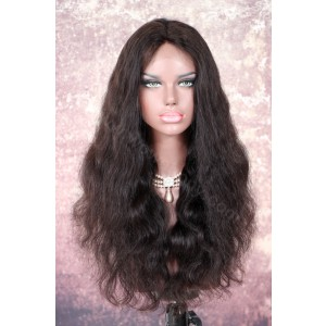 Indian Remy Hair Body Wave Glueless Lace Part Lace Wig