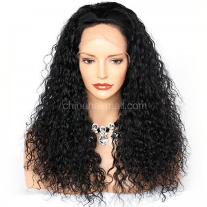 Clearance Sale 5*5 Silk Base Full Lace Wigs 20 Inches Indian Remy Hair #1 Color 130% Density