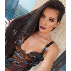 Lace Front Wigs Indian Remy Hair Yaki Straight