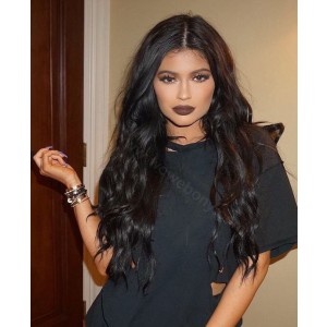 Full Lace Wigs Indian Remy Hair Deep Wave