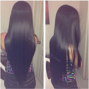Lace Front Wigs Peruvian Virgin Human Hair Yaki Straight