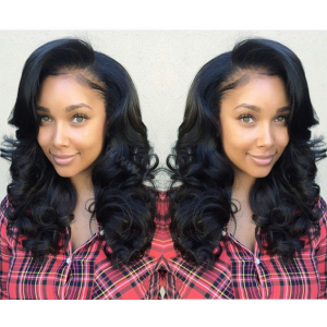 Full Lace Wigs Malaysian Virgin Hair Wavy