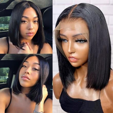 Fast Shipping Stocked WowEbony Human Hair Glueless Lace Frontal Wigs [Shirly3]
