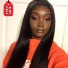WowEbony Pre-Plucked Yaki Straight 360 Lace Wigs,150% density Indian Remy Hair [360YS04]