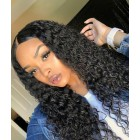 WowEbony 6 Inches Dee Part Pre-Plucked Brazilian Curly 360 Lace Wigs 150% density, 100% Indian Remy Hair 360 Wig [N360BC01]